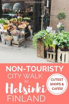 Helsinki travel tip! Your very own walking tour in Helsinki  - just you and local's enjoying their free time.