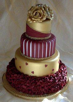 Texas State Bobcats wedding cake!