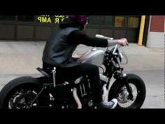 Suicide Harley Davidson Sportster 48 - Downtown Chicago