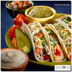 Our #ThemeNights @ #Seasons are a favorite amongst many. This evening we bring you the exotic dishes from Mexican kitchen.At 99 AED, this is one buffet you should not miss! Call in your reservations on 04501 9000.