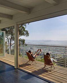 NanaWall and horizontal balustrade