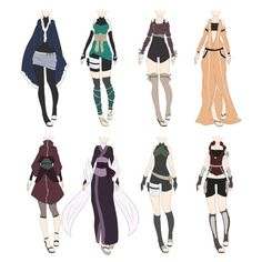 Naruto Outfit Adoptables 6 [CLOSED] by xNoakix3 on DeviantArt: