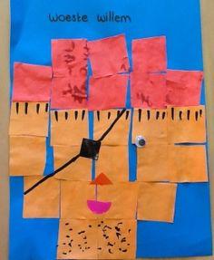 kan ik eventueel met de begrippen links en rechts werken * Piraat van 16 vierkantjes! Peter Pan, Pirate Crafts, Vikings, Crafts For Kids, Gift Wrapping, School, Disney, Creative, Google