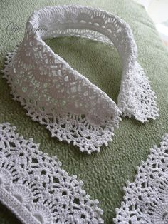Long sleeved white cotton blouse made with gauze fabric, Crochet peasant top for women Crochet Lace Collar, Crochet Lace Edging, Love Crochet, Easy Crochet, Knit Crochet, Russian Crochet, Irish Crochet, Crochet Bookmarks, Crochet Baby Dresses