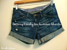 so funny there is a posting for this...i thought everyone knew how do this!  LOL  DIY: jeans to shorts