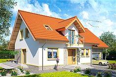 Gotowe projekty domów - gwarancja najniższej ceny - EXTRADOM Lany, Design Case, Home Fashion, House Plans, Exterior, House Design, House Styles, Outdoor Decor, Modern