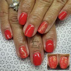 I think this is so pretty! @kiaraskynails gel polish with @moyra_nailpolish stamping plate. #nails #nailedit #nailstoinspire #nailsdone #nailart #nailsalon #nailsbymarieb #nailforyummies #naildesign #nailsoftheweek #nailpolish #nailstyle #nail shop #NailsNailsNails #Nailsaddict #gelpolish #nailprodigy #shortnails #scra2ch #moyranails #nailstamping by nailsbymarieb