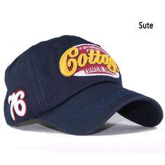 New Spring Fashion Caps Casual Cotton Letter Baseball Caps Adjustable  Snapback Sun Men and women common baseball cap cottonM-16 df1bd75f54e4