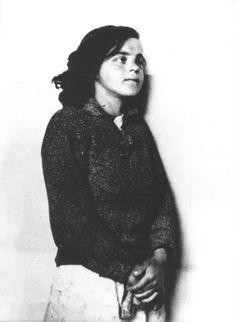 Zagreb - 1945. - Maja Buždon - zapovjednica ženskog konc-logora Jasenovac prije suđenja