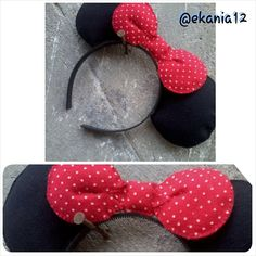 Headcraft minnie mouse from felt ^^
