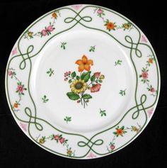 Ceralene GUIRLANDES Luncheon/Dessert Plate GREAT CONDITION #CERALENE