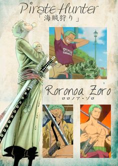 one piece: roronoa Zoro