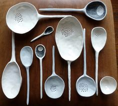 Already hooked on ceramic spoons. but these!