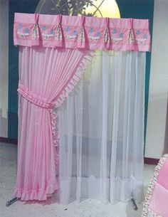 cortinas habitacion de niña