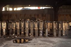 Pay Phone Graveyard in Manhattan