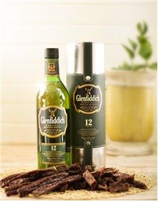 Birthday Presents for Him: Glenfiddich Scotch Whiskey and Biltong Hamper! Birthday Presents For Him, Birthday Gifts, Biltong, Scotch Whiskey, Fun Drinks, Craft Beer, Gifts For Him, Make It Simple, Snacks