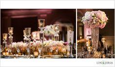 Ritz-Carlton Hotel  Wedding Reception | Kunal and Shivani