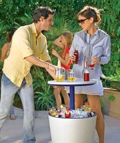 The Cool Bar is Perfect for Backyard Barbecues #furniture trendhunter.com