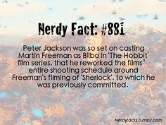 Martin Freeman's Bilbo is perfect. Peter Jackson is a smart, smart man.