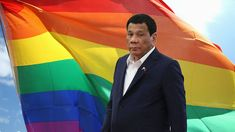 "Philippines' president Rodrigo Duterte made a rather unexpected admission while visiting Japan, saying he used to be gay before he met his ex wife… then he ""became a man again. Rodrigo Duterte, Visit Japan, News Source, Ex Wives, Current News, Philippines, The Cure, How To Become, Gay"