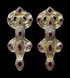 Ancient Beautiful Bronze Pendant Vikings Kievan Rus 8-11 Ad Antiquities