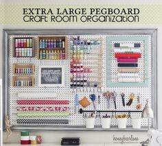 20 Inspiring Pegboard Creative Spaces Tatertots And Jello