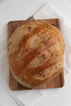 Vidunderlig valnøttbrød - My Little Kitchen Little Kitchen, Food And Drink, Baking, Circuit, Patisserie, Bread, Bakken, Postres, Reposteria