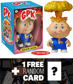 Adam Bomb Deluxe Funko POP x GPK Vinyl Figure  1 FREE Game Themed Trading Card Bundle 55813 ** You can get more details by clicking on the image.