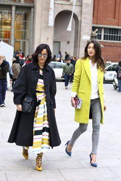 The Trench At Milan Fashion Week