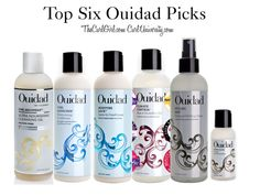 My top 6 Ouidad picks that work for almost any curly hair! They are in the order that you would apply them! The ultra nourishing cleansing oil is my favorite cleanser for curly hair EVER - and that is a serious statement!