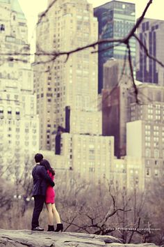 {I want to have engagement pictures in NYC or Chicago}