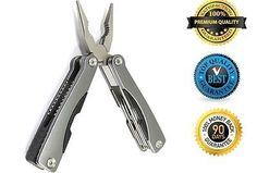 #Bonanza #Multitool #Pocket #Folding #Knife #Wire #Cutter #Can #Bottle #Opener #Plier #Screwdriver #Hercules