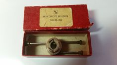 Vintage H & R Wristwatch Movement Holder Watchmaker by trufflepig1