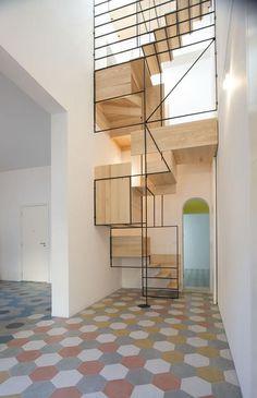 originelles Design für Holztreppen