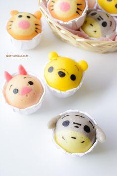 Winnie the Pooh Disney Tsum Tsum Deco Steam Cake