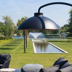 Heatsail - dome infrarood terras verwarmer - Heatsail 2014