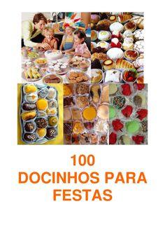 100-docinhos-para-festas by nastaciadositio via Slideshare
