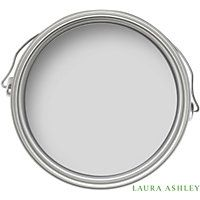 Laura Ashley Pale Silver Matt Emulsion Paint - 2.5L