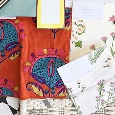 """Excited to see how @jennykeenandesign is going to use the """"Darcy"""" and """"Wells"""" textiles in the @coastal_living 2018 Idea House! This year, the house is in Beaufort, SC and it will be open for touring all summer long!"""
