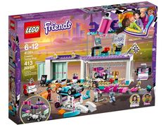 LEGO 41351 Friends Creative Tuning Shop 413 Pieces for sale online Karting, Lego Toys, Lego Duplo, Custom Go Karts, Creative Shop, Tool Drawers, Lego Friends Sets, Shop Lego, Susa