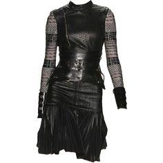 hervelegerbymaxazria-editedbyelfemme ❤ liked on Polyvore featuring dresses, short dresses, black, black mini dress, black cocktail dresses, short black dresses and kohl dresses