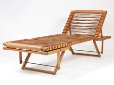 Travel Deckchair Pippa by Rena Dumas For Hermès.