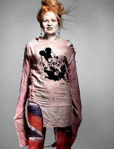"""My son has followed fashion since he was a punk. He and I agree that fashion is about sex."" ~Vivienne Westwood~"