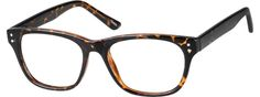 Order online, unisex tortoiseshell full rim acetate/plastic square eyeglass frames model #124925. Visit Zenni Optical today to browse our collection of glasses and sunglasses.