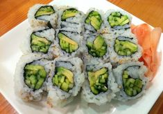 Vegan Sushi Rolls! #vegan #recipe #lent #fishfree