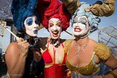 Collaborator Clowns at Burning Man 2015. (Photo by Scott London)
