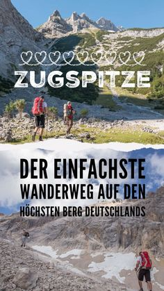 Hike from Garmisch to the Zugspitze Zugspitztour 1 day - outdoor hikes .-- Hike from Garmisch to the Zugspitze Zugspitztour 1 day – outdoor hikes – Germany Europe Destinations, Europe Travel Tips, Travel Hacks, Backpacking Europe, Backpacking Boots, Travel Images, Travel Pictures, Belfast, Marrakesh