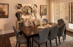 The Camden Dining Room with hardwood floors
