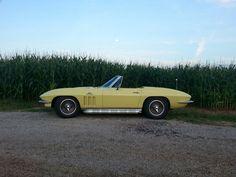 66 convertible Corvette