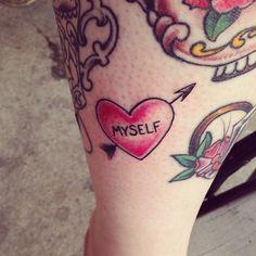 Little blues tattoos, Bloomington Indiana. Tattoo artist Pnut. http://www.pinterest.com/doublecloth/